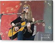 Guitarist Rory Block Acrylic Print by Front Row  Photographs