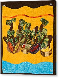 Gumbo Ladies Acrylic Print by Aisha Lumumba