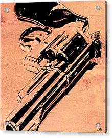 Gun Number 6 Acrylic Print by Giuseppe Cristiano