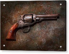Gun - Police - Dance For Me Acrylic Print by Mike Savad