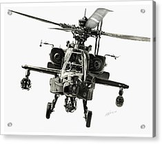Gunship Acrylic Print by Murray Jones