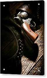 Gunslinger Tool Acrylic Print by Olivier Le Queinec