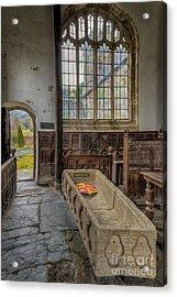 Gwydir Chapel Acrylic Print by Adrian Evans