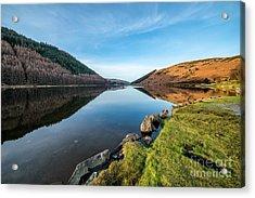 Gwydyr Forest Lake Acrylic Print by Adrian Evans