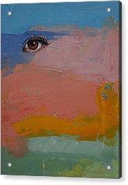 Gypsy Acrylic Print by Michael Creese