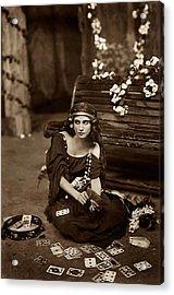 Gypsy Acrylic Print by Unknown