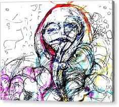 Habit Acrylic Print by Mark M  Mellon