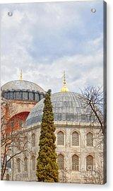 Hagia Sophia 11 Acrylic Print by Antony McAulay