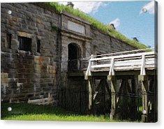 Halifax Citadel Acrylic Print by Jeff Kolker
