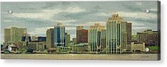 Halifax From The Harbour Acrylic Print by Jeff Kolker