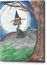 Hallow's Guard  Acrylic Print by Priscilla Hale
