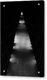 Hallway To Nowhere Acrylic Print by Christi Kraft