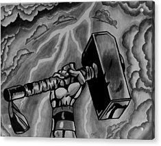 Hammer Of Thor Acrylic Print by Jeremy Moore