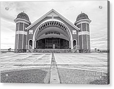 Hampton Beach Bandstand Stage Acrylic Print by Edward Fielding