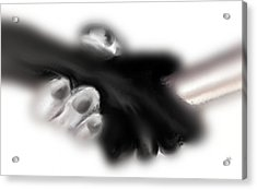 Hand Shake Acrylic Print by Marcello Cicchini