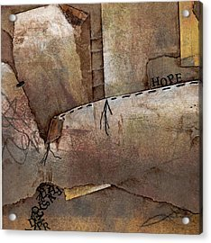 Hanging By A Thread Acrylic Print by Laura  Lein-Svencner