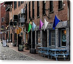 Hanging In The Old Port Acrylic Print by Joe Faragalli