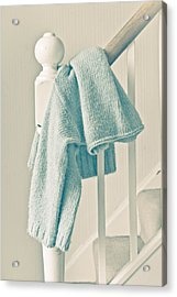 Hanging Jumper Acrylic Print by Tom Gowanlock