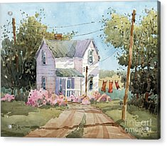 Hanging Out In Illinois By Joyce Hicks Acrylic Print by Joyce Hicks