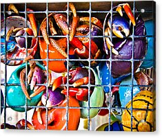 Hanging With My Buds Acrylic Print by Colleen Kammerer