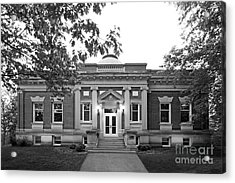Hanover College Hendricks Hall Acrylic Print by University Icons