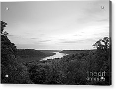Hanover College Ohio River View Acrylic Print by University Icons