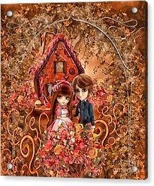 Hanzel And Gretel Acrylic Print by Mo T