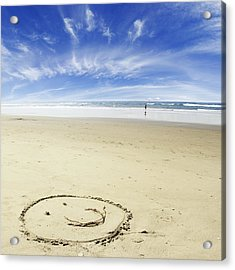 Happiness Acrylic Print by Les Cunliffe