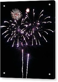 Happy 4th Acrylic Print by Andrew  Stoffel