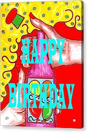 Happy Birthday 1 Acrylic Print by Patrick J Murphy