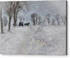 Happy Holidays From Pa Acrylic Print by Lori Deiter