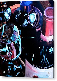 Happy Hour Acrylic Print by Donna Tuten