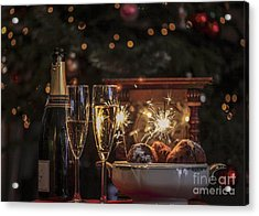 Happy New Year Acrylic Print by Patricia Hofmeester