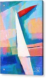 Happy Sailing Acrylic Print by Lutz Baar