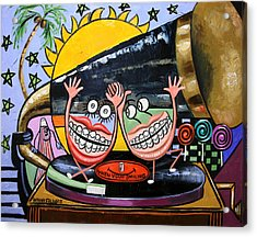 Happy Teeth When Your Smiling Acrylic Print by Anthony Falbo
