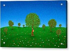 Happy Walking Tree Acrylic Print by Gianfranco Weiss