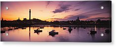 Harbor Cape Cod Ma Acrylic Print by Panoramic Images
