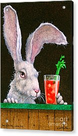 Hare Of The Dog...sans Dog... Acrylic Print by Will Bullas