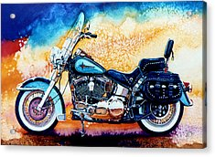 Harley Hog I Acrylic Print by Hanne Lore Koehler