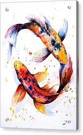 Harmony Acrylic Print by Zaira Dzhaubaeva