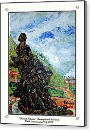 Harriet Tubman-underground Railroad Acrylic Print by Keith OBrien Simms