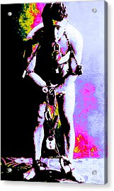 Harry Houdini - 20130208 Acrylic Print by Wingsdomain Art and Photography