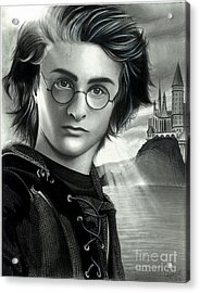 Harry Potter And The Goblet Of Fire Acrylic Print by Crystal Rosene