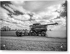 Harvest Time Acrylic Print by Dale Kincaid