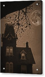 Haunted Acrylic Print by DJ Florek