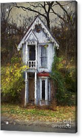 Haunted House Acrylic Print by Elena Nosyreva
