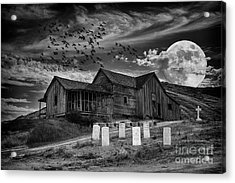 Haunted House Acrylic Print by Mimi Ditchie