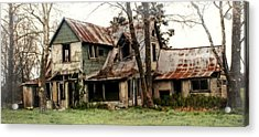 Haunted Acrylic Print by Marty Koch