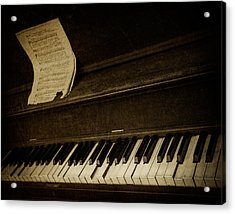 Haunted Melody Acrylic Print by Amy Weiss