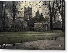 Haunted Village Acrylic Print by Svetlana Sewell